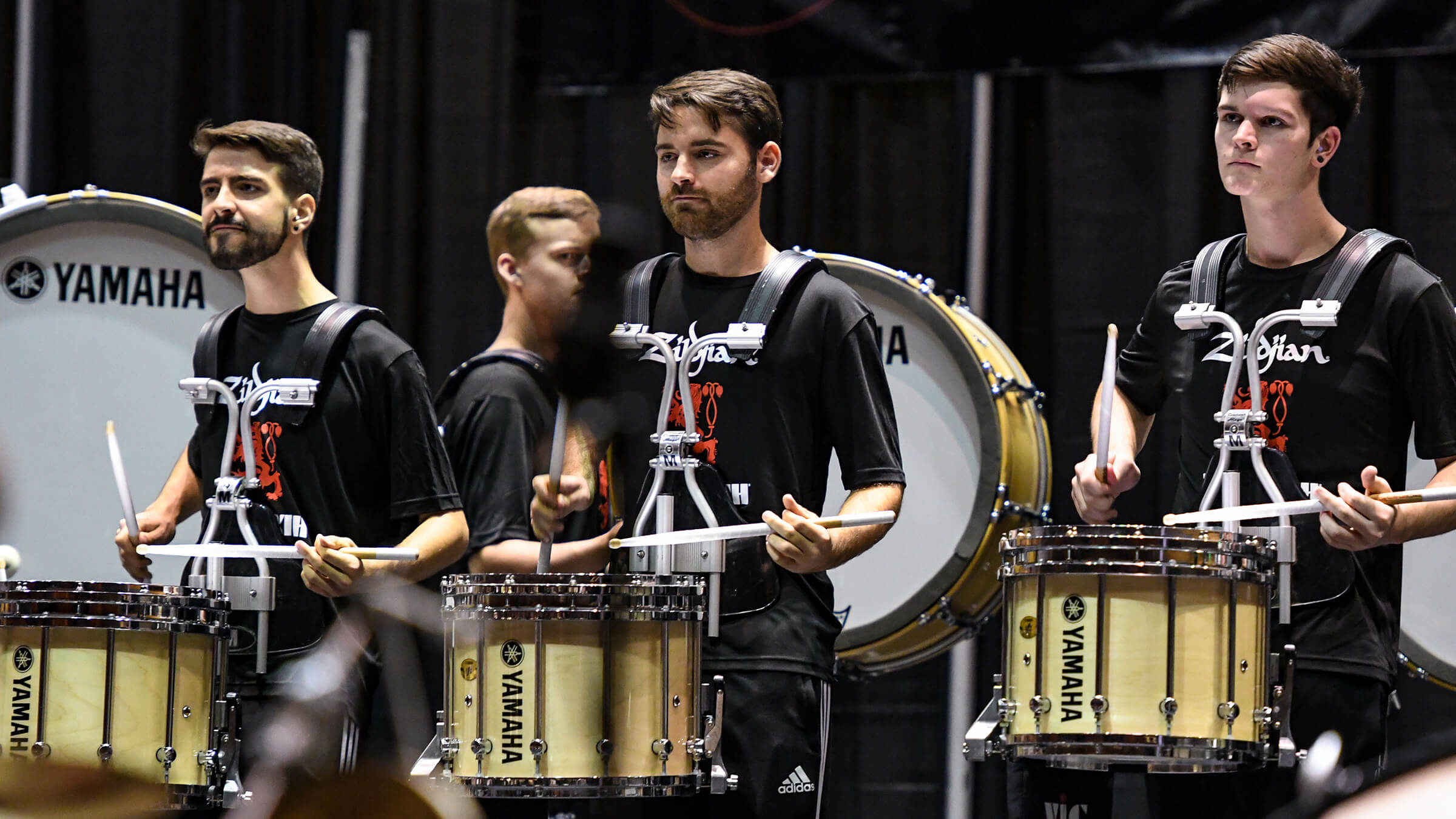 Boston Crusaders percussion section makes PASIC debut