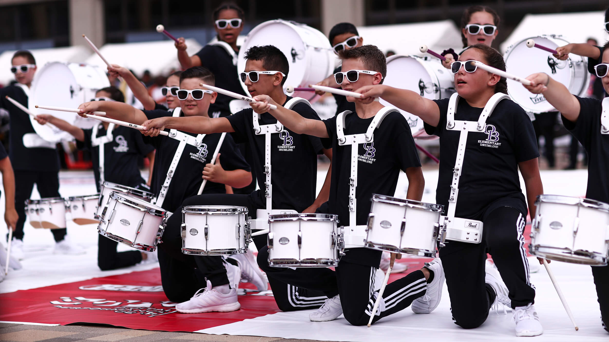 Everyone gets involved at '19 DrumLine Battle Indy