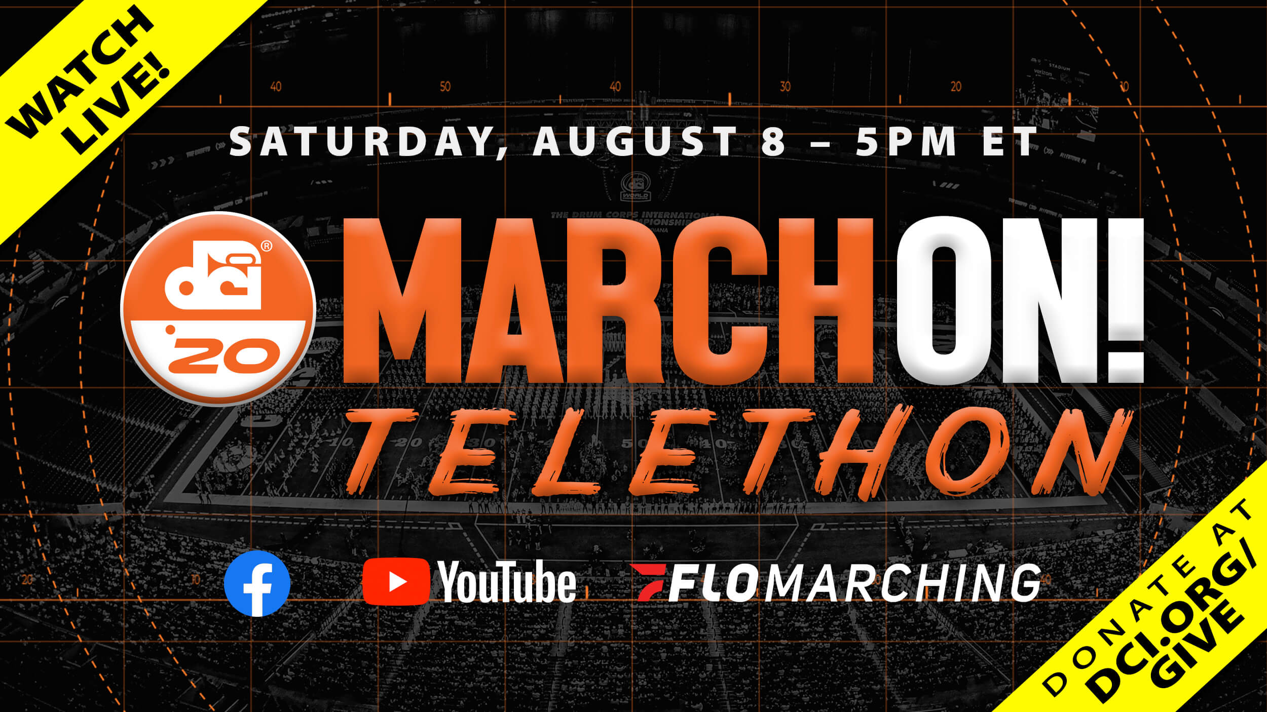 WATCH NOW: DCI MarchOn! Telethon