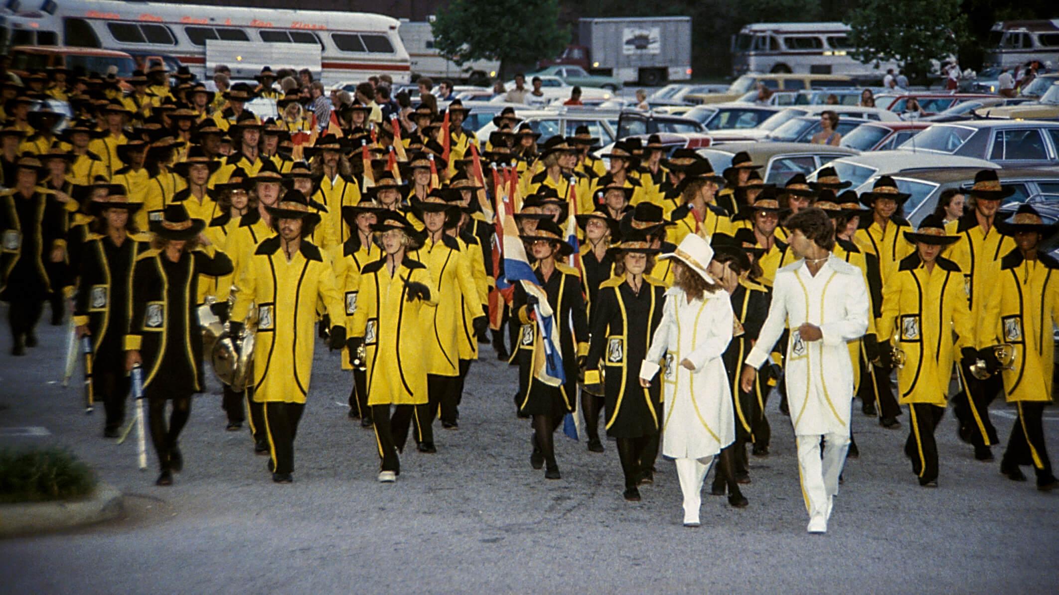 How the Bridgemen got their banana-yellow coats