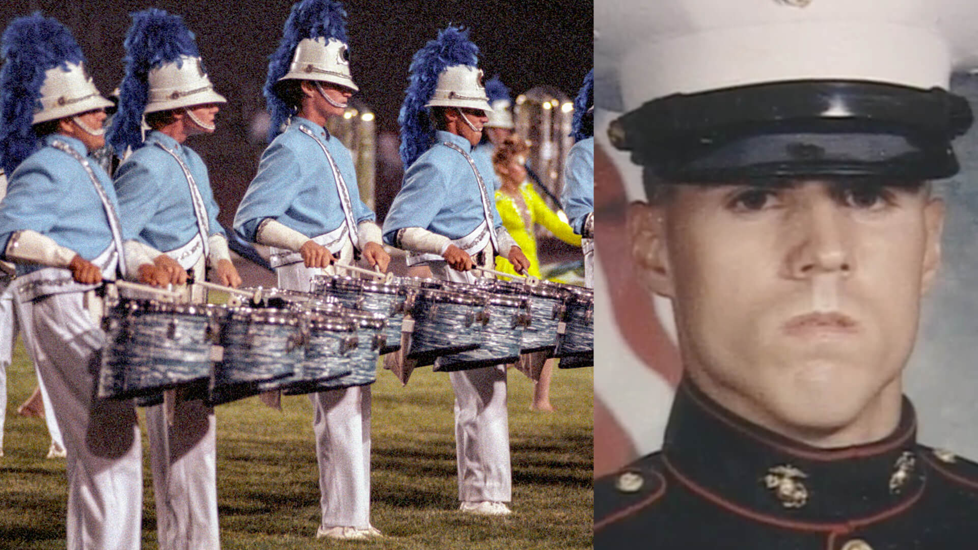 From the Marine Corps to an age-out season with the Bluecoats