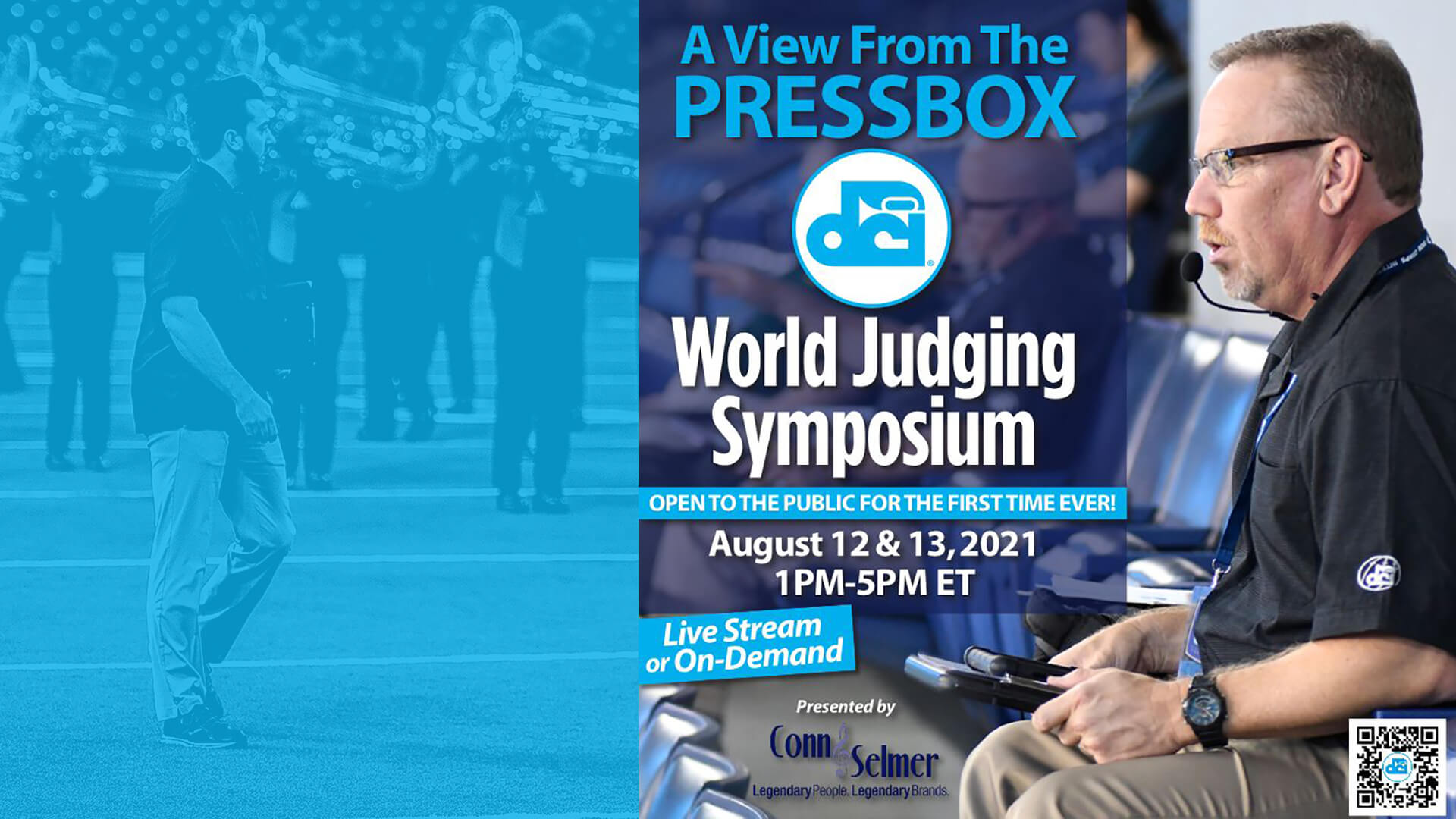 """DCI partners with Conn-Selmer to present """"World Judging Symposium"""""""