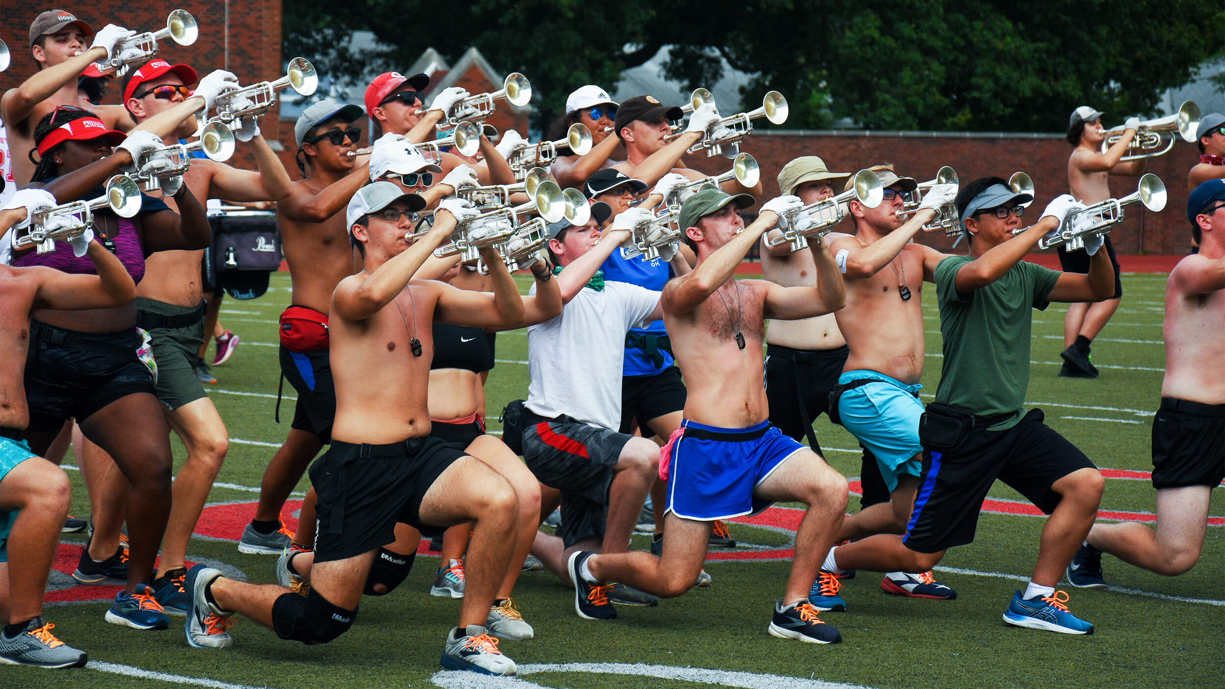 Regiment pushing toward payoff in unconventional summer preseason