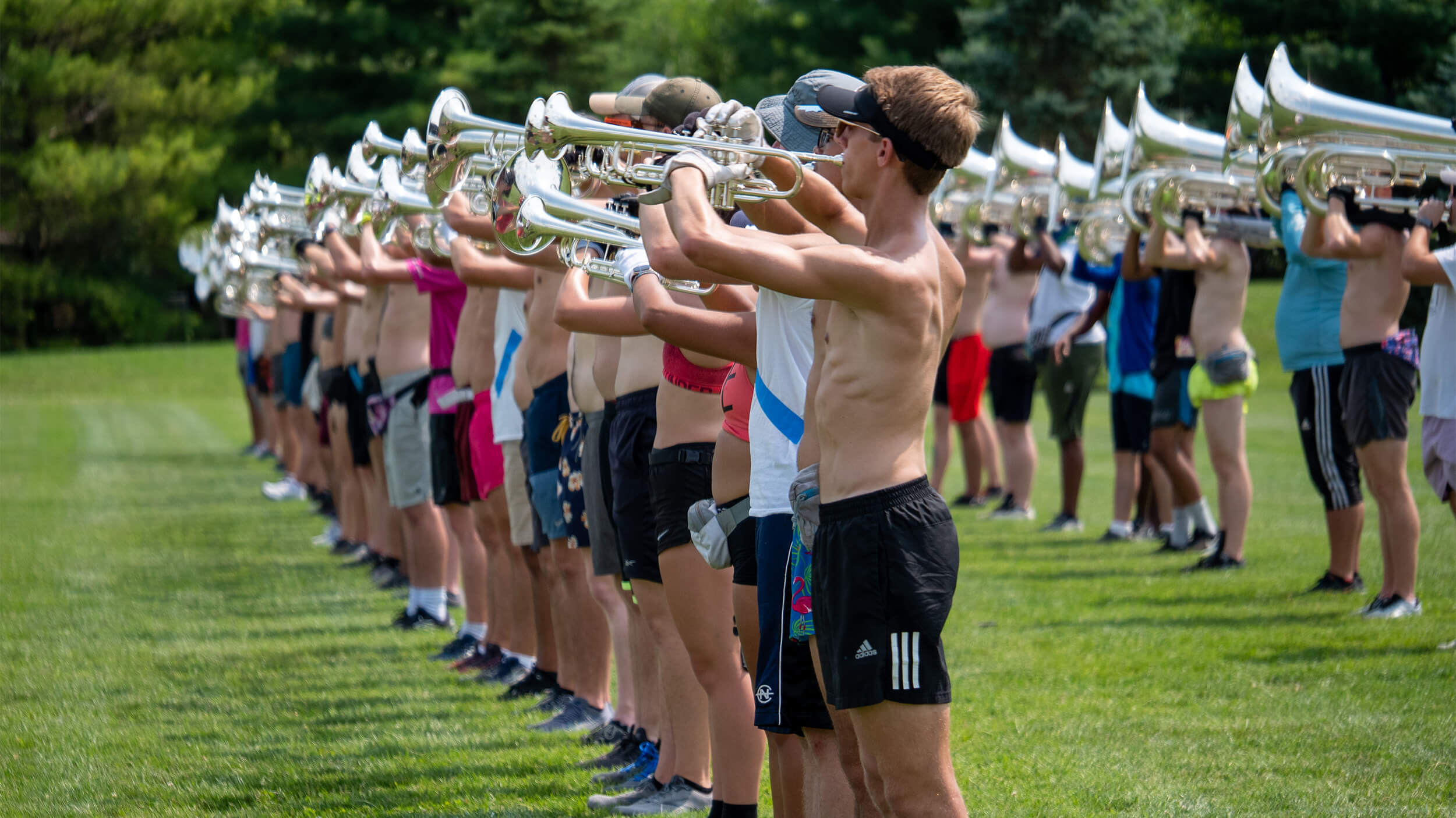 Intermission is over as '21 Bluecoats march into final days of preseason