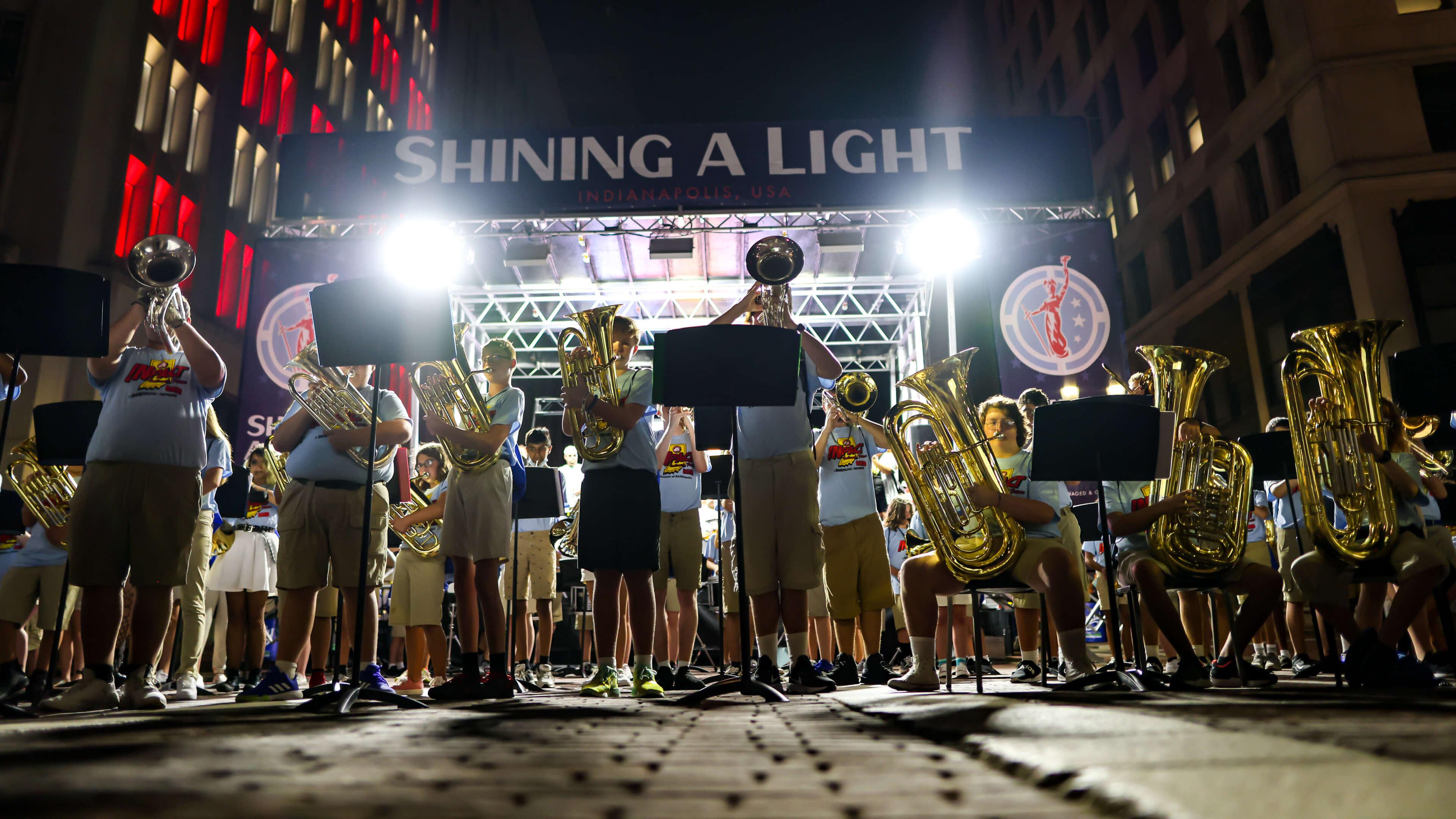 2021 Shining A Light on Music Education